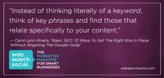 Basic SEO: 10 Ways To Get The Right Bits In Place Without Angering The Google Gods