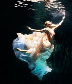 this one makes me want to swim in a dress...beautiful