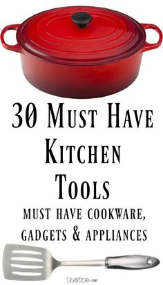 My Must Have Kitchen Essentials