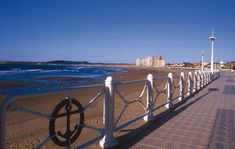 Playa de Salinas #Castrillón #playa #beach #Asturias #ParaísoNatural #NaturalParadise #Spain Costa, Surf, Paraiso Natural, Parking, Cannon, Wind Turbine, Places To See, Playa Beach, Travel