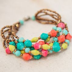 like the way this is put together. I can see this with pearls, many other color combinations