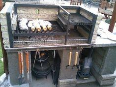 Backyard bbq set up!