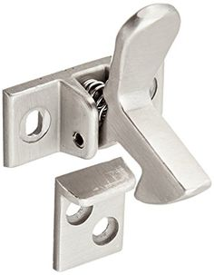 Slide-Co 244691 Cabinet Door Elbow Catch Satin Nickel Plated This elbow catch is used to lock the secondary cabinet door on a pair of cabinet doors in one ...  sc 1 st  Pinterest & Amico Cabinet Spring Loaded Lockable Draw Latch Silver Tone by Amico ...