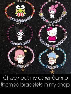 Seed Bead Jewelry, Seed Beads, Cute Jewelry, Jewelry Crafts, Beaded Jewelry, Chunky Jewelry, Pony Bead Bracelets, Kandi Bracelets, Pony Beads