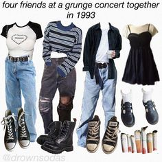 You are in the right place about grunge goth makeup Here we offer you the most beautiful pictures ab Retro Outfits, Vintage Outfits, Indie Outfits, Edgy Outfits, Cute Casual Outfits, Simple Outfits, Fashion Outfits, Soft Grunge Outfits, Fashion Boots