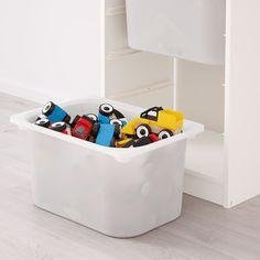 Ikea Trofast Storage, Plastic Box Storage, Toy Storage, Storage Boxes, Licht Box, Drawer Rails, Ikea Family, 54 Kg, Shopping