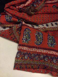 Chiffon Fabric Print 2 Yards by FABULACE on Etsy