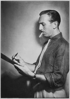 Ghitta Carell, Il disegnatore Walt Disney, 1935  Ghitta Cartell, fotografa di un'epoca - VanityFair.it