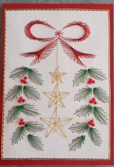 Xmas Tree – forum gallery stitching card of the week