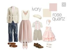 What to wear for a photo shoot, light neutrals with pink