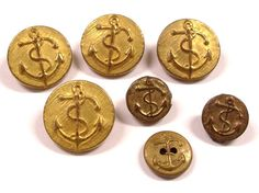 gold button vintage - Google Search