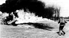 """BELLUMARTIS HISTORIA MILITAR: LOS LANZALLAMAS ESTADOUNIDENSES EN EL PACÍFICO. """"SACACORCHOS Y SOPLETE""""  Prueba del E1R1.  Leo P. Brophy, Wyndham D. Millas"""