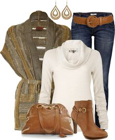 """""""Cozy Cardigan"""" by melindatg ❤ liked on Polyvore"""