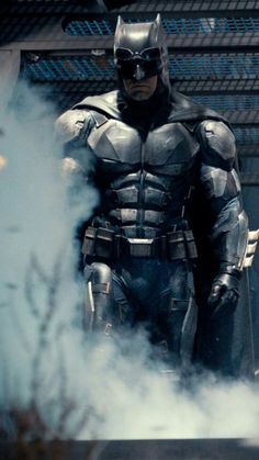Batman's new tactical bat suit in the new Justice League movie.