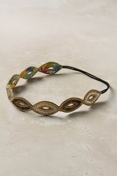 I'll admit, I want to just wear this across my forehead like a 1920s flapper rather than as something for a normal head band.