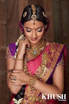Beautiful photo taken for Khush Magazine. Make... - Casipillai Designer Collection