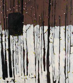 Kiira Jamison. Something at Least we Imagined. Acrylic on canvas. 170 x 150 cm
