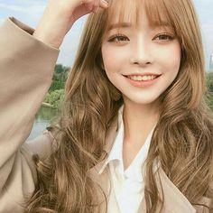 Blonde Asian, Asian Hair, Cute Korean Girl, Cute Asian Girls, Korean Beauty, Asian Beauty, Jung So Min, Uzzlang Girl, Pretty Asian