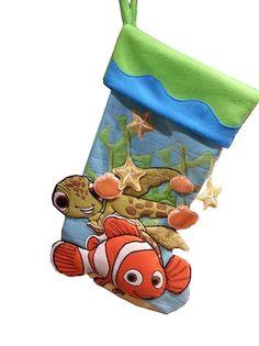 Disney Christmas Stocking - Finding Nemo - Nemo & Squirt