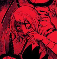Red Aesthetic Grunge, Aesthetic Art, Aesthetic Anime, Manga Anime, Anime Art, Dark Art Illustrations, Juuzou Suzuya, Arte Obscura, Gothic Anime