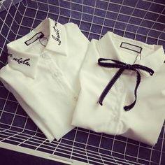 在YesStyle.com 購買 '氣質淑女 品牌 – 刺繡襯衫 / 領結襯衫', 多買符合優惠的 中國 產品,即可享受免郵費快遞服務!