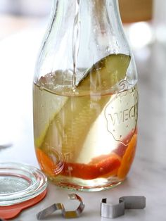 Pickle Infused Vodka from foodiecrush.com