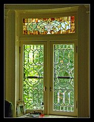 Stained glass - Hutchinson House