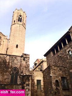 Kathedrale im gotischen Viertel/ Barcelona November 2013