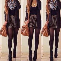 """""""OOTD!!! This is the perfect kind of clothing for this season!! #hopeulike #swaeterswag #sryhaventbeenposting #weheartit"""""""
