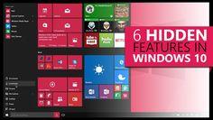 6 Hidden Features in Windows 10