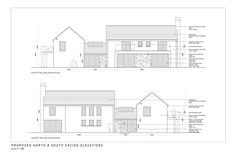 Mullan Chartered Architects work hand in hand with our clients and contractors to produce outstanding buildings, ranging from small domestic extensions, alterations and bespoke dwellings to large scale commercial and private developments. House Extension Ireland, Cottage Extension, Dormer Bungalow, Elevation Drawing, Arch House, Rural House, Georgian Homes, House Extensions, New Home Designs