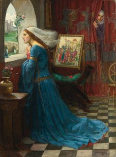 John William Waterhouse's 'Fair Rosamund'