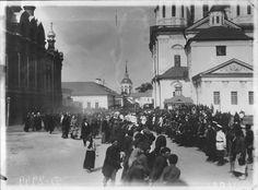 Члены Императорской фамилии на «Саровских торжествах», июль 1903, г. Саров