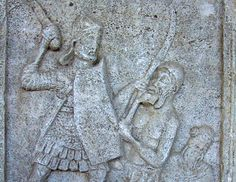 Relief from the Tropaeum monument at Adamclisi (photo Cristian Chirita)
