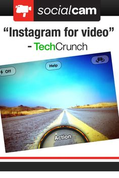 Socialcam is the free and easy way make and share videos with friends and family from your iPhone. Now with vintage video filters!