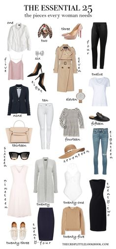 Die 25 Kleiderschrank Essentials, die jede Frau braucht … thecrisplittleloo The 25 Wardrobe Essentials that every woman needs … thecrisplittleloo, Mode Outfits, Casual Outfits, Fashion Outfits, Fashion Trends, Women's Casual, Fashion Ideas, Airport Outfits, Fashion Basics, Casual Winter