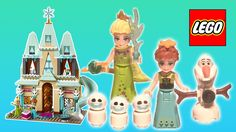 Check out this brand new LEGO Disney Frozen Castle playset and celebrate Anna's birthday with Queen of Ardendelle Elsa, Olaf and 3 mini snowmen! Rainbow Toys, Lego Duplo Sets, Prince Hans, Frozen Dolls, Enchanted Castle, Frozen Sisters, Elsa Olaf, Disney Princess Frozen, Ice Castles