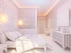 3d Render #Bedroom Islamic Style Interior Design - Architecture #3D #Renders Download here: https://graphicriver.net/item/3d-render-bedroom-islamic-style-interior-design/20307252?ref=alena994