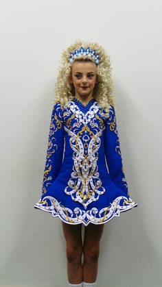 Unique hand-made irish dance dresses tailored by Shauna Shiels at Doire Dress Designs. Beautiful Irish Dancing Dresses created for feis, schools & championships