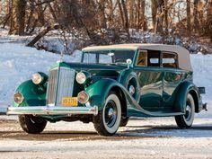 1936 Packard Eight Convertible Sedan - (Packard Motor Car Company Detroit, Michigan 1899-1958)