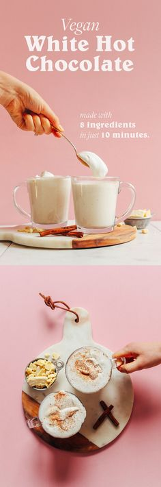 Vegan White Hot Chocolate | Minimalist Baker Recipes
