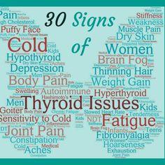 30 Signs of a Thyroid Problem -My Personal Struggle with Hypothyroidism - Kombucha & Kale Symptoms Of Thyroid Problems, Thyroid Symptoms, Thyroid Issues, Hypothyroidism, Overactive Thyroid, Thyroid Nodules, Thyroid Health, Thyroid Disease