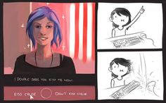""" Life is Strange: Before the storm With Chloe Price and Rachel Amber I'm so in love with this game ~ "" Life Is Strange Fanart, Life Is Strange 3, Strange Art, Rachel Amber, Transgender, Overwatch, Arcadia Bay, Max And Chloe, Chloe Chloe"