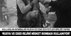 Rusya ve Esed rejimi misket bombası kullanıyor Merkezi New York'ta bulunan İnsan Hakları İzleme örgütünün (HRW) Beyrut kaynaklarına göre, Suriye rejim güçlerinin ve Rusya'nın, eylül ayından bu yana muhalif gruplara yönelik büyük oranda misket bombası kullandığı belgelendi.