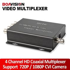 155.55$  Buy now - 4Ch HDCVI Video Multiplexer Over One Coaxial Cable Connect 4Ch CCTV 720P 1080P HD CVI Camera Security Repeater 100M Distance  #magazineonline
