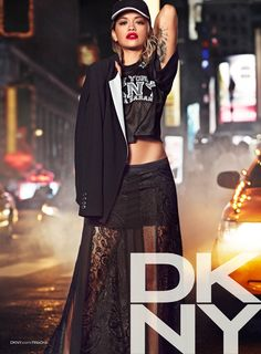 DKNY. Fall-Winter 2013. Model: Rita Ora