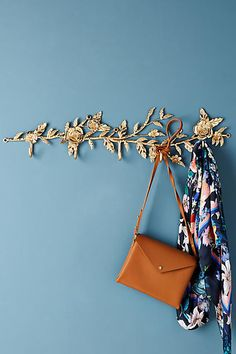 Anthropologie Madison Hook Rack (ad)  #AnthroFave