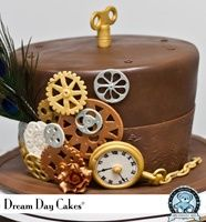 Dream Day Cakes-Steampunk Cake food
