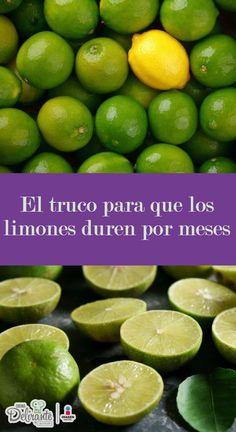 como conservar limones por meses | CocinaDelirante