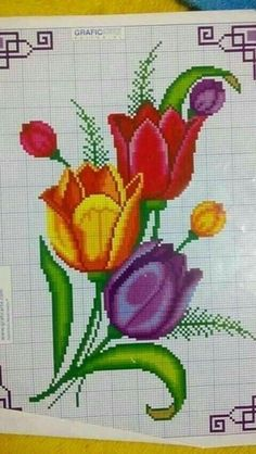 Seed Bead Flowers, Seed Beads, Cross Stitch Flowers, Cross Stitch Patterns, Beaded Embroidery, Diy And Crafts, Wallpaper, Cross Stitch Rose, Cross Stitch Pictures